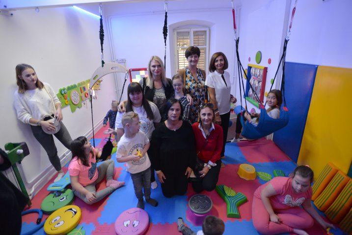 Soba je važna za terapijski rad s djecom / Foto Damir ŠKOMRLJ
