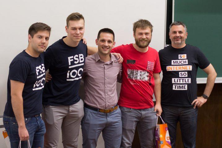 WES workshop FER Studenti pobjednici s Iskon mentorima (Igor Briški)
