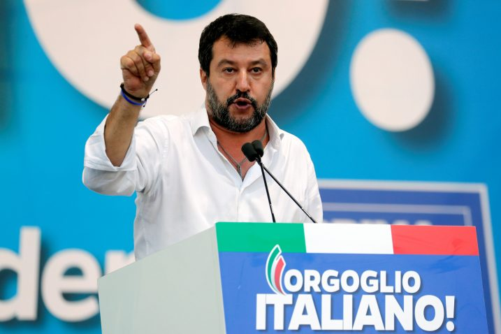 Matteo Salvini / REUTERS