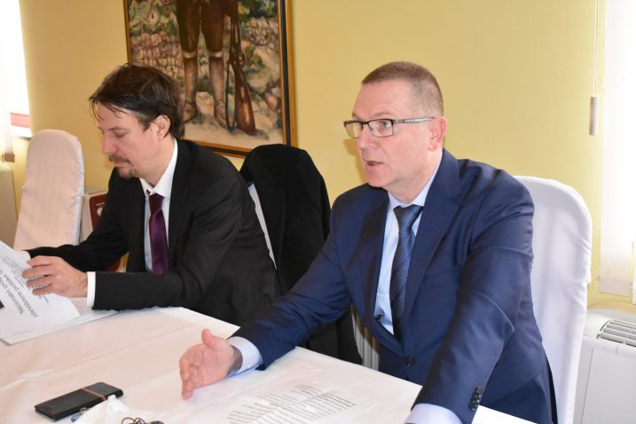 dr. Saša Srića i Tomislav Zrinski / Foto Marin Smolčić