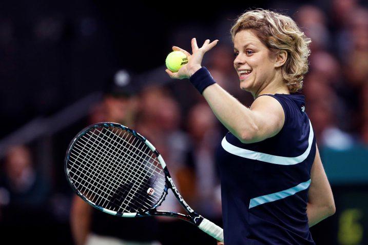 Kim Clijsters / REUTERS