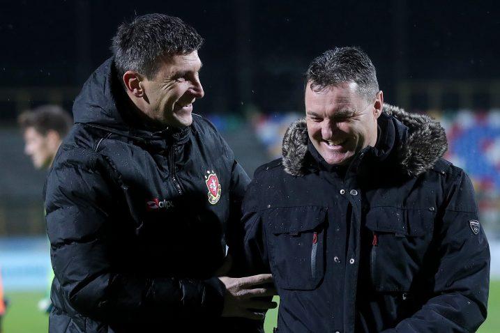 Sergej Jakirović i Samir Toplak/Foto PIXSELL