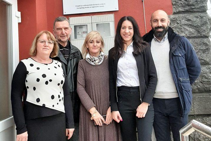 Jelena Stepić, Mario Ćiković, Astrid Massari, Astra Gašparini i Roni Puharić / Foto Općine Matulji