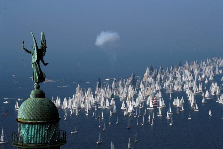 Ovogodišnja Barcolana okupila je 2015 brodova/Foto REUTERS