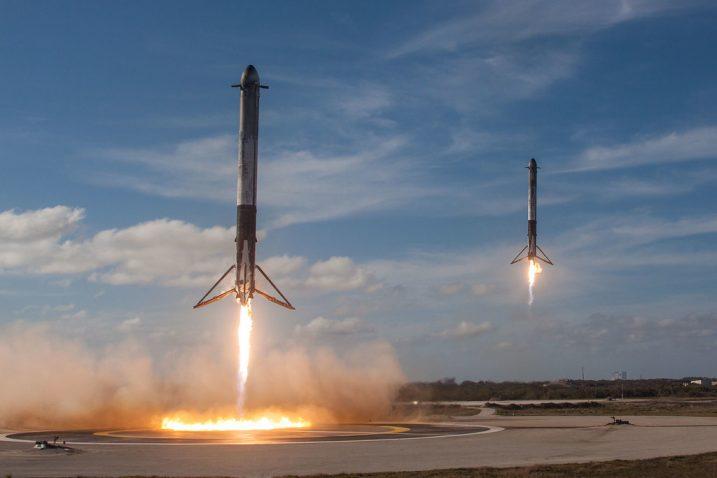 FOTO/Falcon Heavy Demo Mission, Flickr