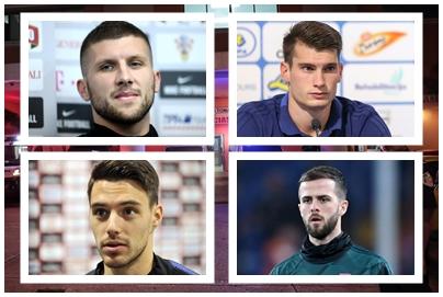 Dominik Livaković, Ante Rebić, Josip Brekalo i Miralem Pjanić/Foto Arhiva NL