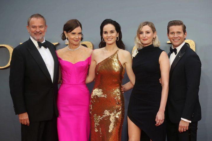 Ekipa filma »Downton Abbey« na ovotjednoj premijeri u Londonu