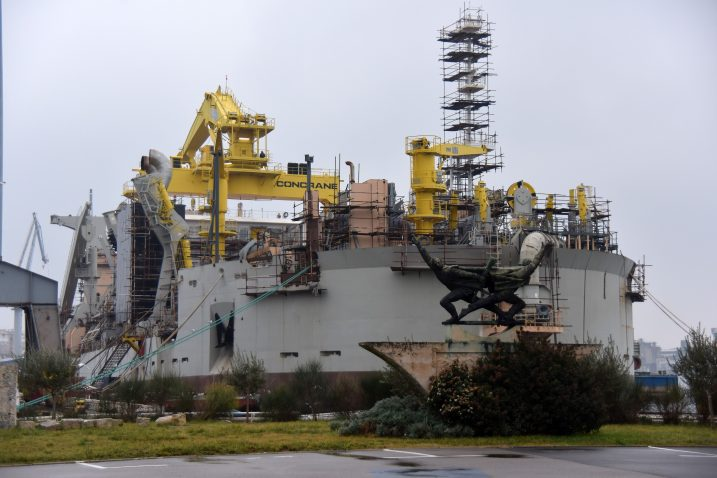 Sofisticirana i skupa gradnja čekala rasplet u Uljaniku / Foto Duško MARUŠIC/PIXSELL