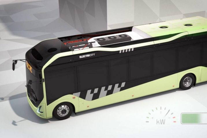 FOTO/Volvo električni autobus, Youtube