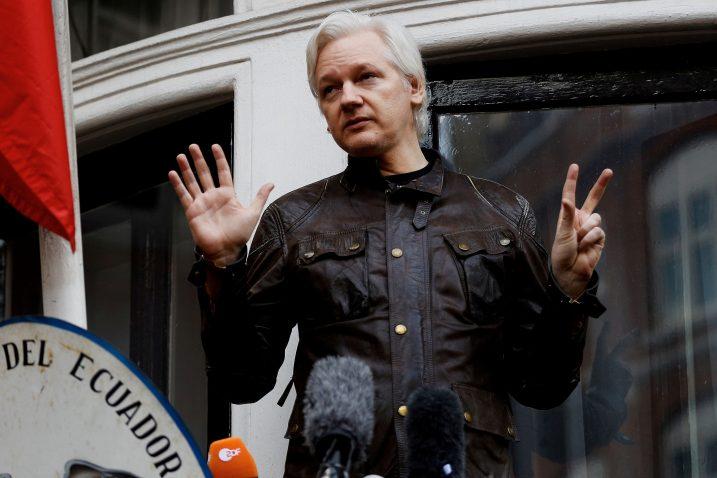 Julian Assange / REUTERS