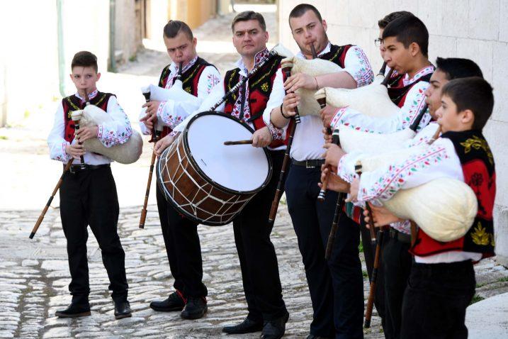 Svirači tradicijskih glazbala iz bugarske Varne / Snimio Marko GRACIN