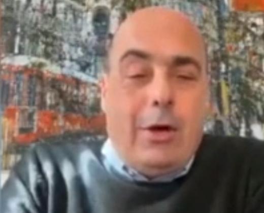 Nicola Zingaretti / Screenshot youtube Stv