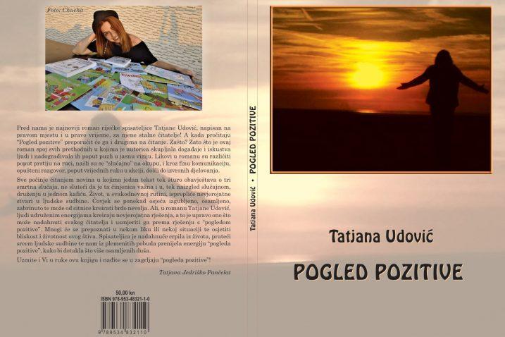 Korice novog romana Tatjane Udović