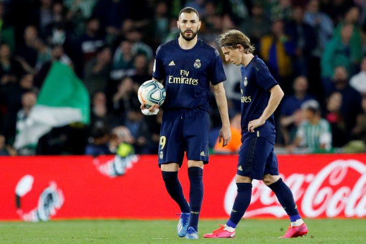 Karim Benzema i Luka Modrić/Foto REUTERS