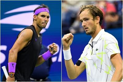 Rafael Nadal i Danil Medvedev/Foto REUTERS