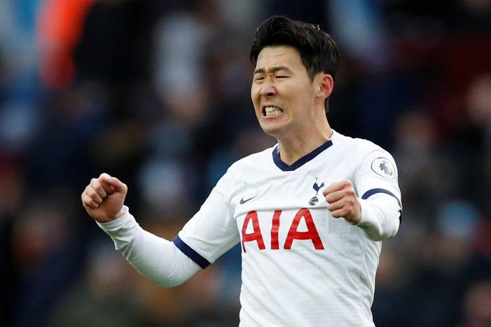 Son Heung-min (Tottenham)/Foto REUTERS