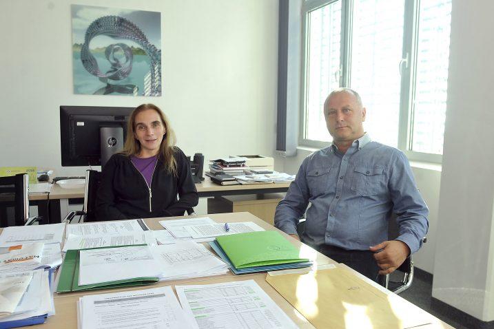 Prof. dr. Sanja Rukavina i prof. dr. Dean Crnković / Foto Vedran KARUZA