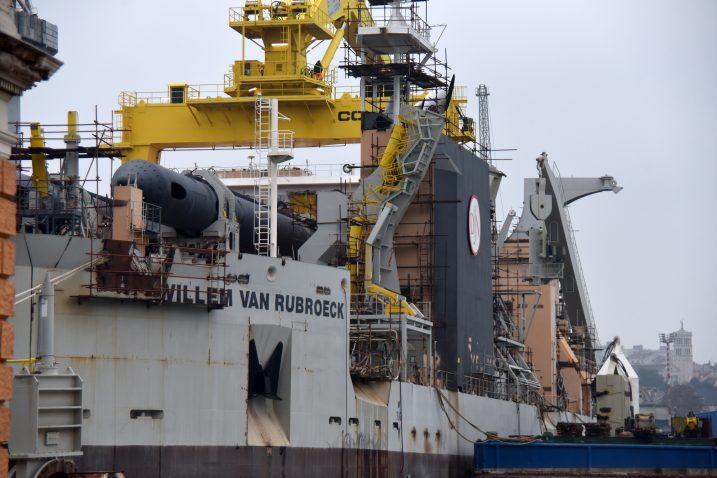 Moćna offshore grupa Jan De Nul sad je u poziciji da diktira sljedeći potez / Foto Duško MARUŠIĆ/PIXSELL