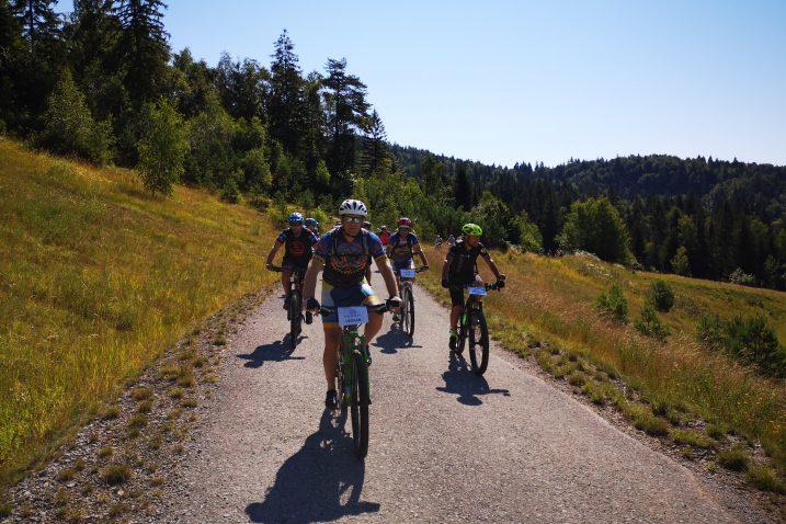Biciklističke staze na području Gorskog kotara privlače sve više ljudi željnih aktivnog odmora / Snimio Marinko KRMPOTIĆ