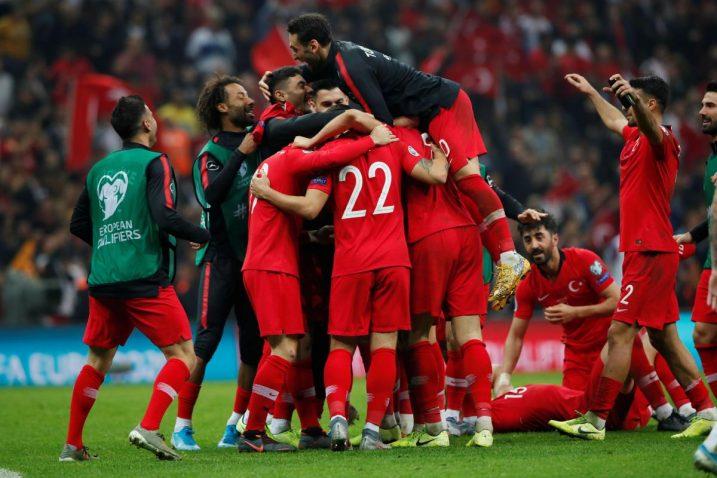 Turci slave plasman na Euro/Foto REUTERS