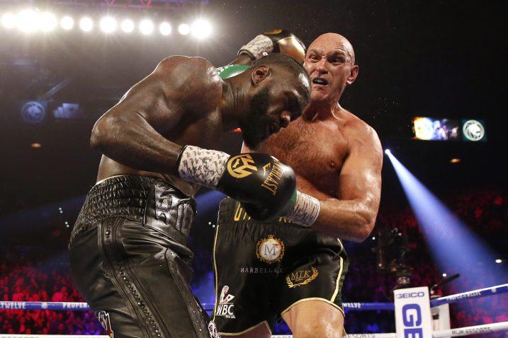 Tyson Fury i Deontay Wilder/Foto: REUTERS