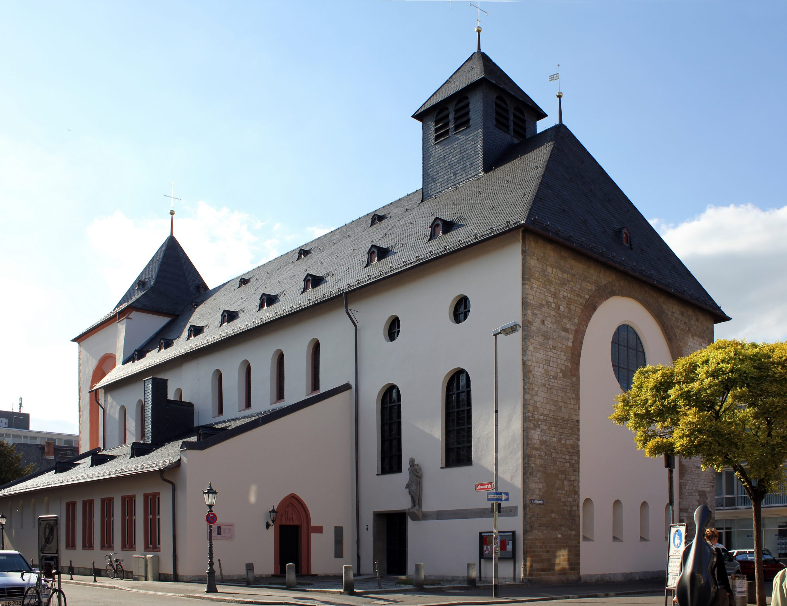 FOTO/Johanniskirche, Mainz, Wikimedia Commons