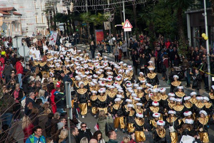 Prošlogodišnje izdanje Dječjeg karnevalskog korza / Foto Luigi