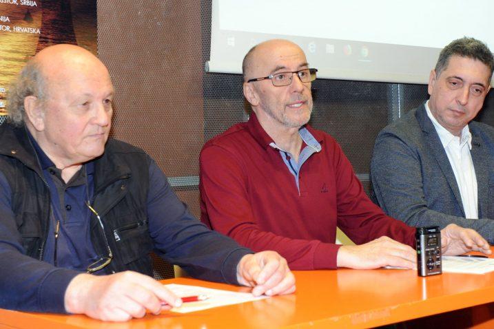Eduard Piacun, Ivan Mandekić i Renato Kostović/Foto M. GRACIN