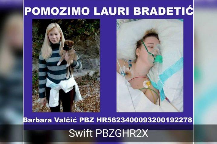 Foto Facebook Pomozimo Lauri Bradetić