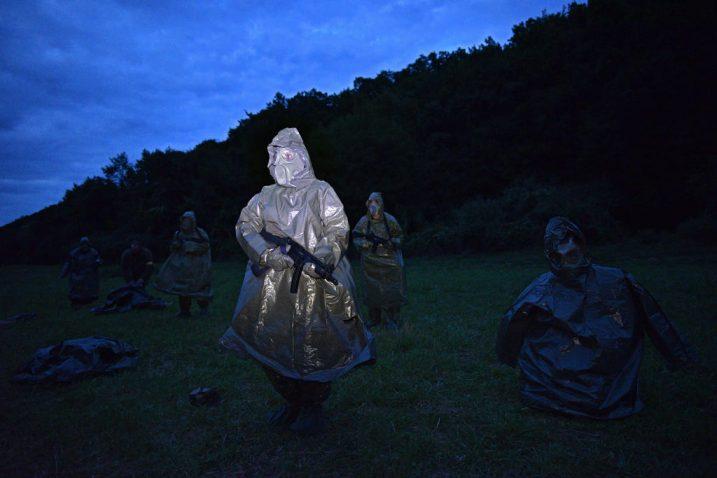 Scena iz filma »U slučaju rata«
