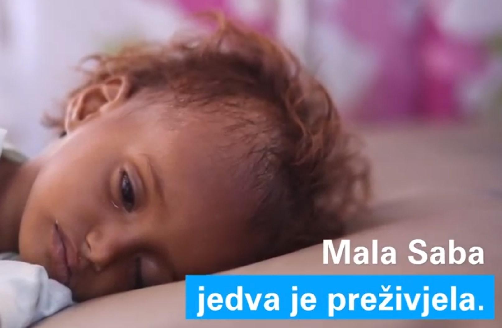 Foto Screenshot YouTube UNICEF Hrvatska