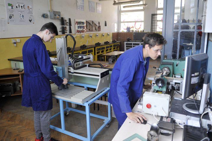Elektroindustrijska i obrtnička škola u utrci za razvojna EU sredstva / Foto Roni Brmalj