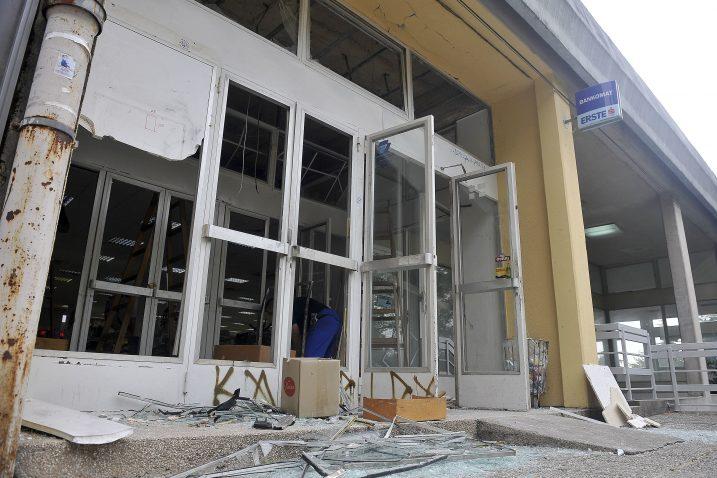 Bankomat na Kantridi opljačkan je u rujnu / Snimio Roni BRMALJ