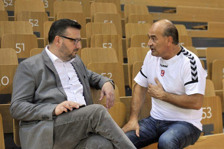 Vedran Devčić i Boris Konjuh/Foto V. KARUZA