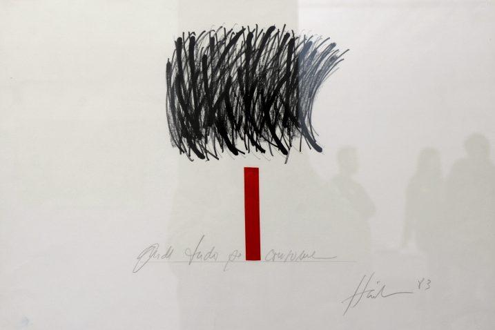 Carlos Härle: »Bez naziva«, 1983. / Snimio Marko GRACIN