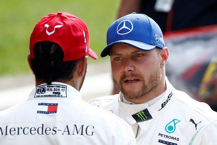 Valtteri Bottas i Lewis Hamilton/Foto REUTERS
