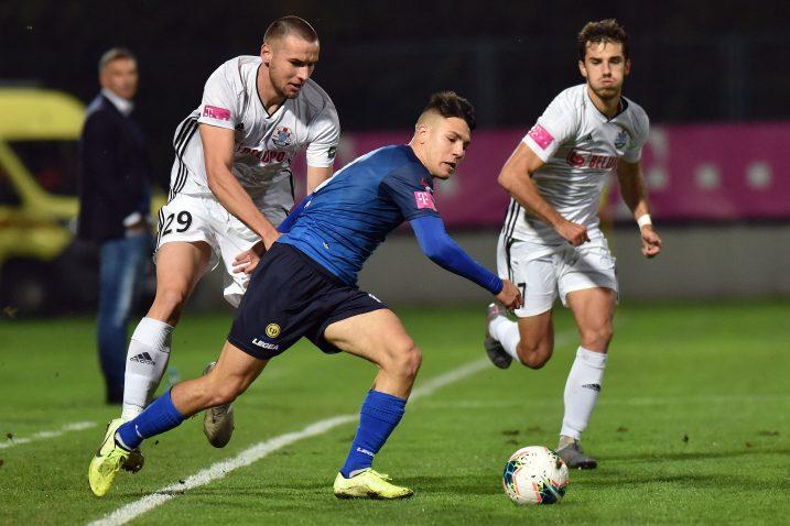 Detalj s utakmice između Varaždina i Slaven Belupa/Foto PIXSELL