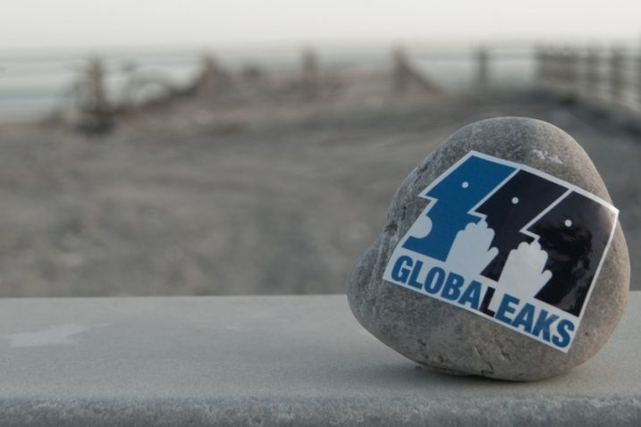 Foto Screenshot GlobalLeaks