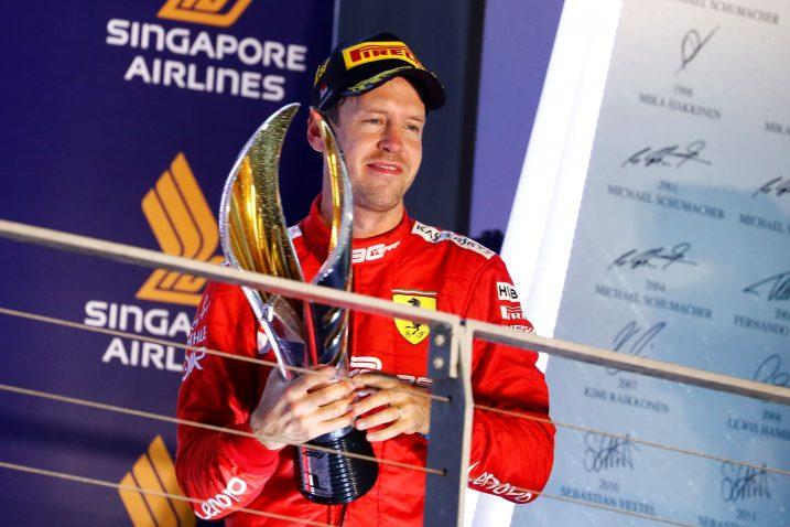 Sebastian Vettel (Ferrari)/Foto REUTERS