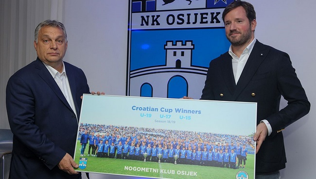 Viktor Orban i Ivan Meštrović/Foto PIXSELL
