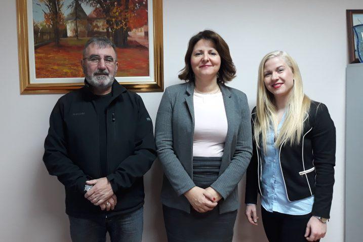 Luka Matanić, Sanja Udović i Ema Sušanj