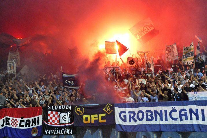 Armada u svojem elementu tijekom ogleda protiv Maribora na Kantridi/Foto Arhiva NL