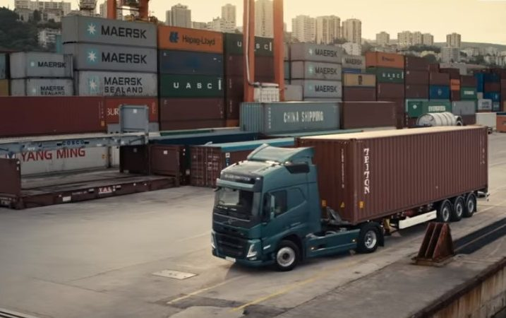 Foto Screenshot YouTube Volvo Trucks