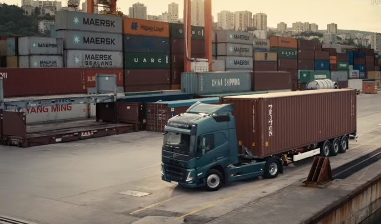Foto Screenshot YouTube Volvo Trucks