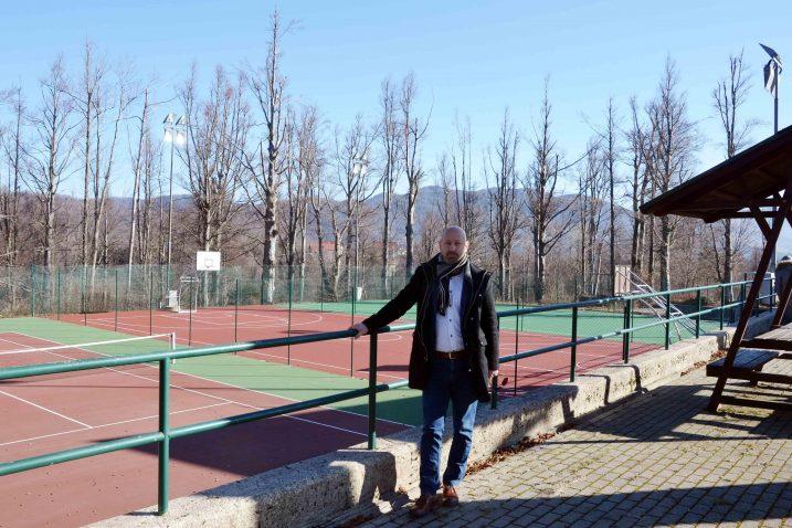 U Gorici su uz tenisko, uređena i igrališta za košarku i mali nogomet / Foto M. KRMPOTIĆ