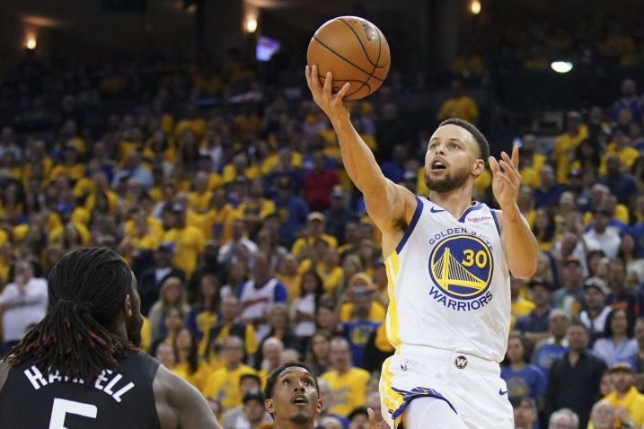Stephen Curry (Golden State Warriors)/Foto REUTERS