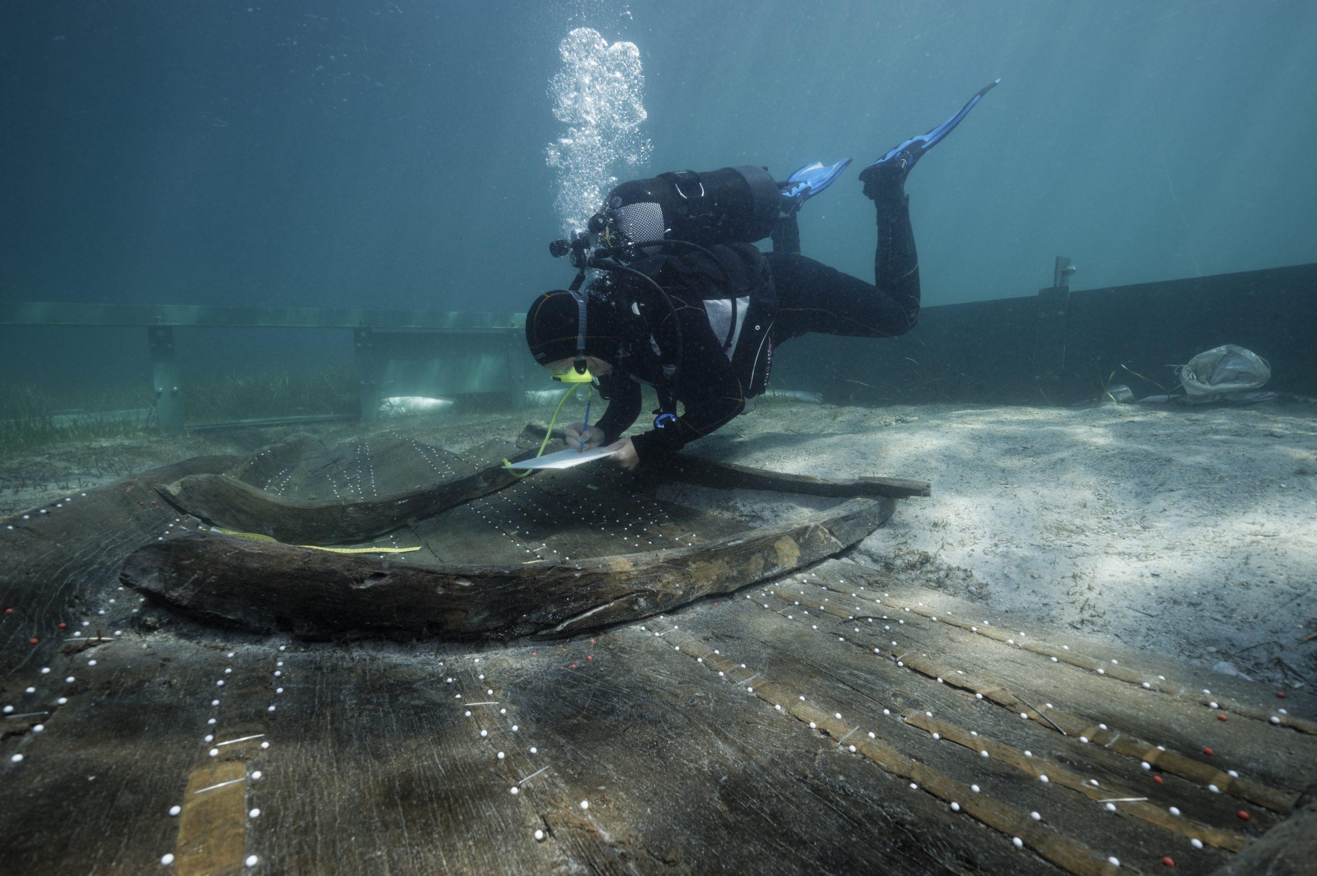 Brodska konstrukcija iz Zambratije i dalje leži na morskome dnu, adekvatno zaštićena od prirodnih i ljudskih utjecaja