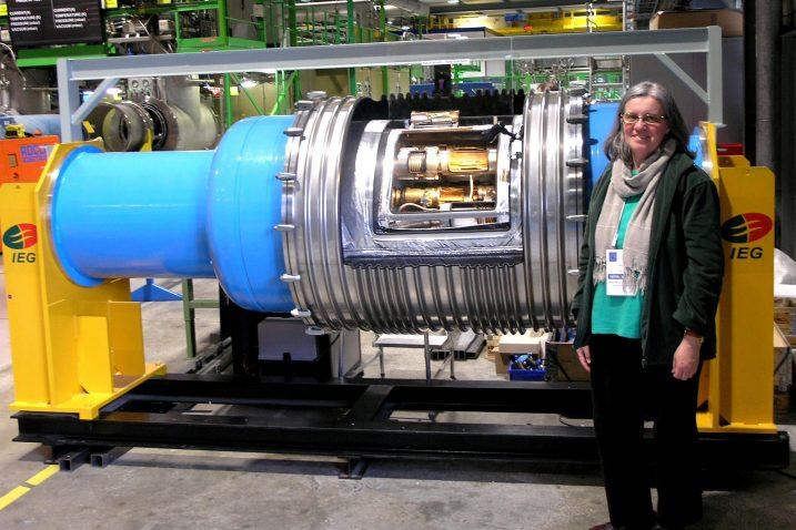 Željka Vrcelj je u društvu tridesetak hrvatskih kolega u Ženevi stjecala nova znanja i eksperimentalne vještine o elementarnim česticama i svemiru
