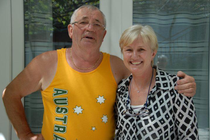 Polubrat i polusestra našli se nakon 40 godina i opet postali bliski - Ivan Pemper i Vesna Burnett / Snimila Nataša CAR