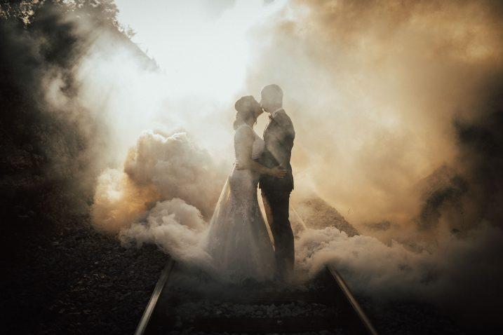 Nagrađena fotografija snimljena na pruzi na Zametu / Foto Tomica RAŠETINA